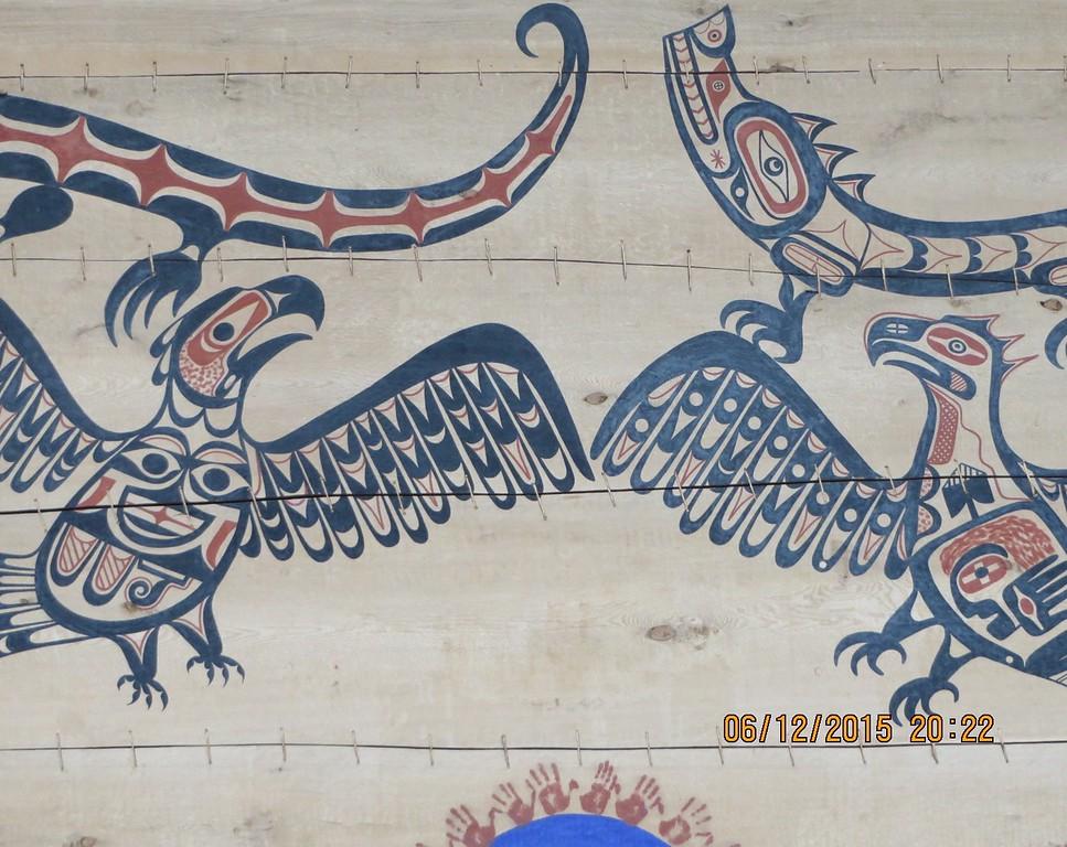 Museum of Civilization, Ottawa, Canada with Tauck Tours: Aboriginal artworks