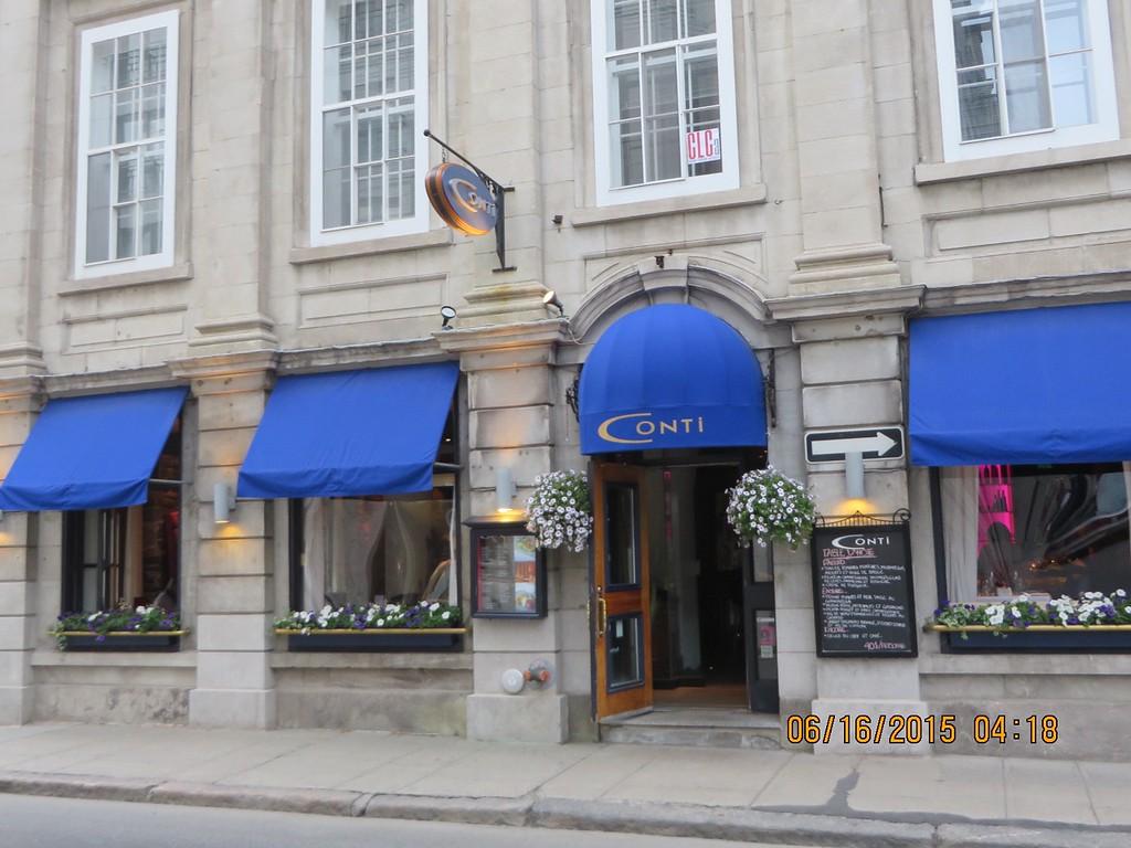 Conti Restuarant, Quebec City, Quebec, Canada