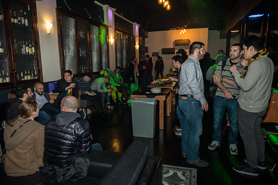 Guests mingled at the Hex Lounge of SF