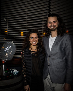 Dominic Ripoli and fiancee Bella Yousif of Elevated Affair