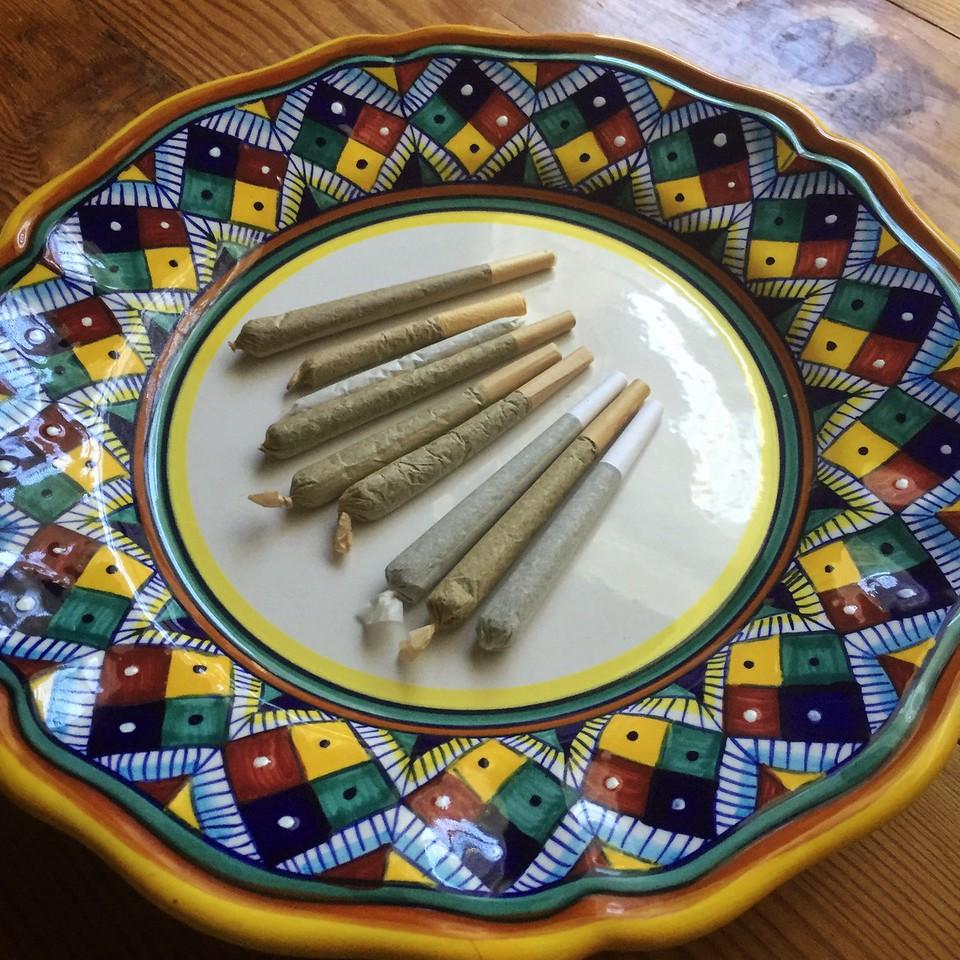 joints, sticks, pre-rolls, doobie, jay, spliff