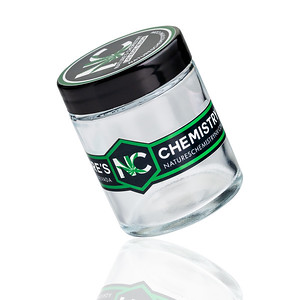 Nature's Chemistry 2oz Glass Jars Custom packaging