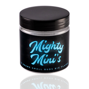 4OZ PET MIGHTY MINI'S BLUE TILTED