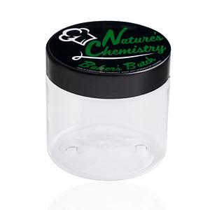 Natures Chemistry 8oz PET Jars Custom Packaging