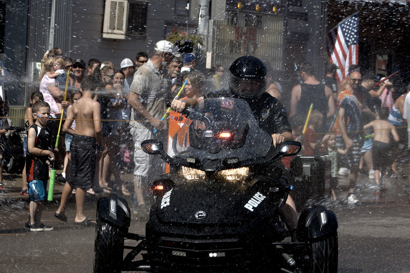 2017 Wet and Dry Parade in Florence, Colo.