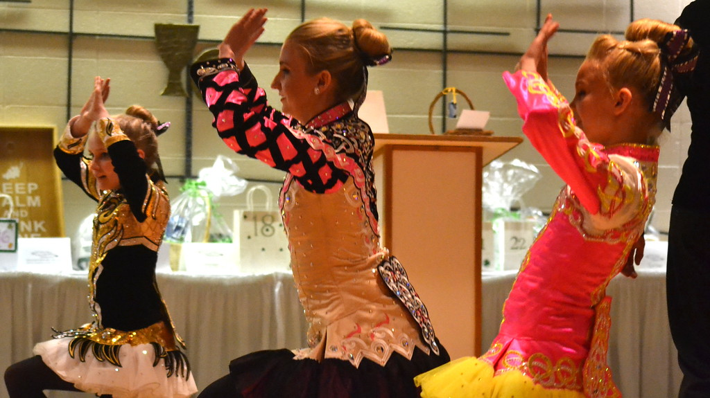 . Celtic Steps Irish Dance Studio members perform Saturday at the  Colorado Museum of Prisons�  fundraiser.