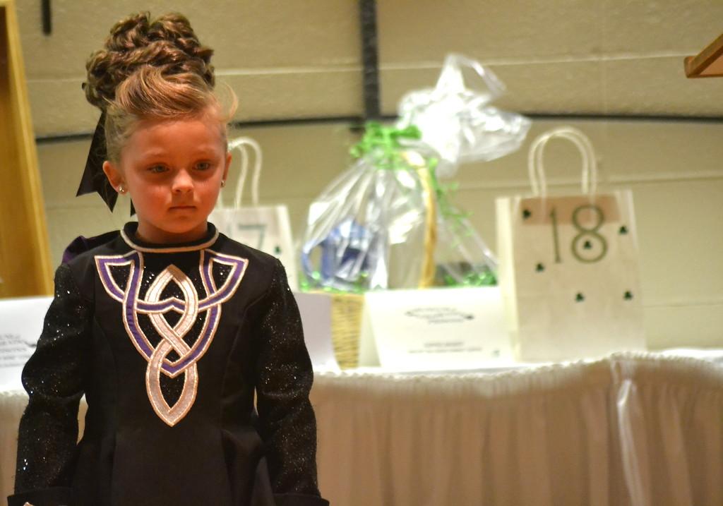 . Celtic Steps Irish Dance Studio member performs Saturday at the  Colorado Museum of Prisons�  fundraiser.
