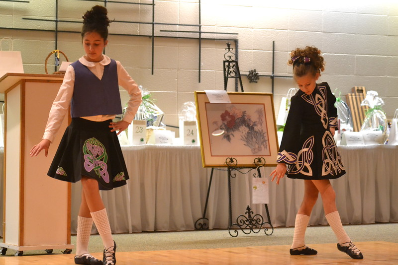 Celtic Steps Irish Dance Studio members perform Saturday at the  Colorado Museum of Prisons'  fundraiser.