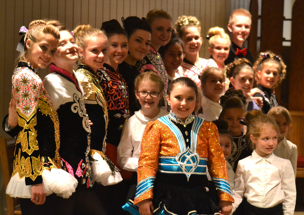 . Celtic Steps Irish Dance Studio members in Colorado Springs get ready to perform Saturday at the  Colorado Museum of Prisons�  fundraiser.