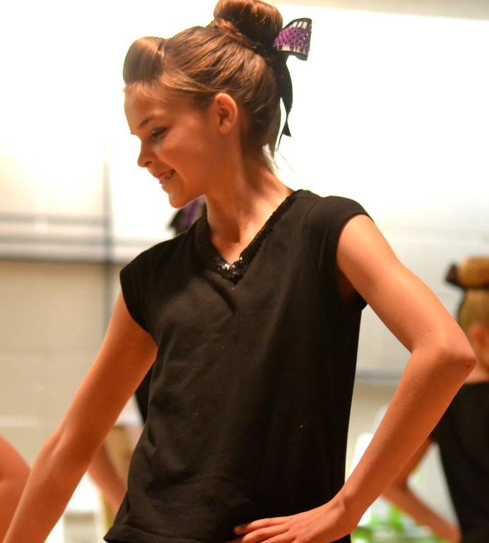 . A Celtic Steps Irish Dance Studio member performs Saturday at the  Colorado Museum of Prisons�  fundraiser.