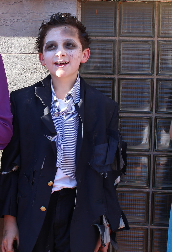 Trevanni Guerra won third place in the 11 to 14 category at the Spook-Tacular and Trunk or Treat costume contest.
