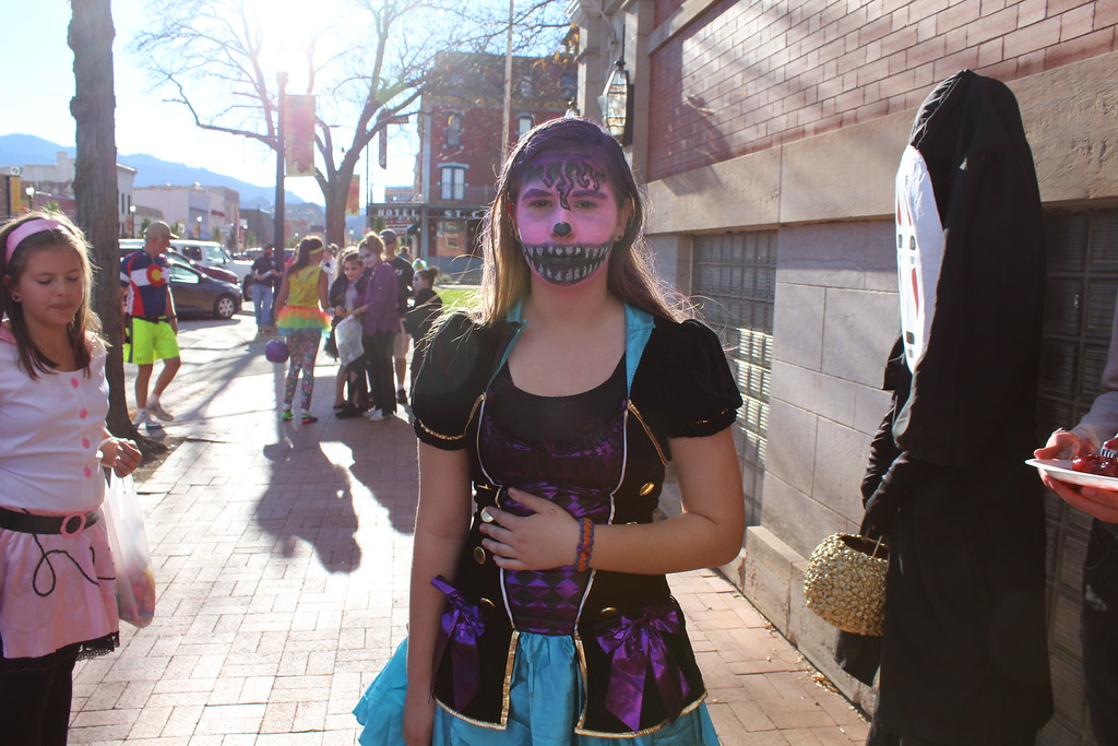 . Mikayla Hoffman won second place in the 11 to 14 category at the Spook-Tacular and Trunk or Treat costume contest.
