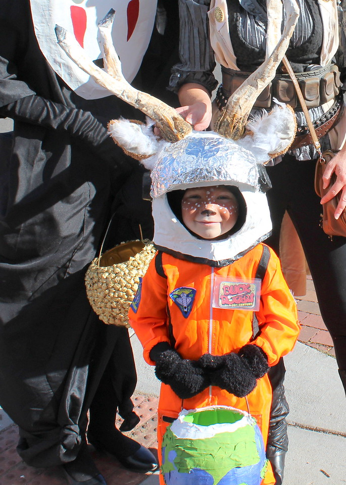 Phoenix Beach won second place in the 5 to 10 category at the Spook-Tacular and Trunk or Treat costume contest.