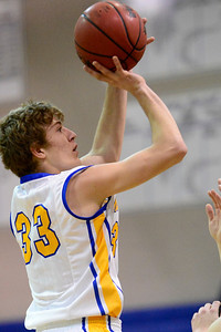 Husky Matthew Miller against Salida. Jeff Shane/ Daily Record