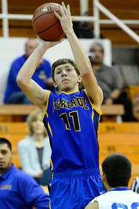 Florence Husky Dennis Donley against DHPH at Pueblo Central. Jeff Shane/ Daily Record