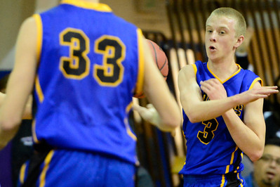 Florence Husky Jeremy Nelson against DHPH at Pueblo Central. Jeff Shane/ Daily Record