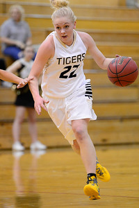 Tiger Nicole Decker against Pueblo East. Jeff Shane/ Daily Record