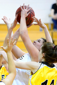 Tiger Lindsey Schwab against Pueblo East. Jeff Shane/ Daily Record
