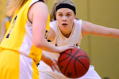 Tigers Nicole Archambeau against Pueblo East. Jeff Shane/ Daily Record