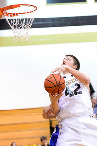 Tiger Gunner Javernick against Pueblo Central Tuesday January 15, 2013. Jeff Shane/ Daily Record