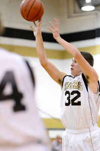 Tigers Logan Nethercot against Pueblo South in Canon City. Jeff Shane/ Daily Record
