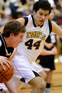 Tigers Anthony Jaramillo against Pueblo South in Canon City. Jeff Shane/ Daily Record