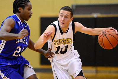 Tiger against Central Tuesday January 15, 2013. Jeff Shane/ Daily Record