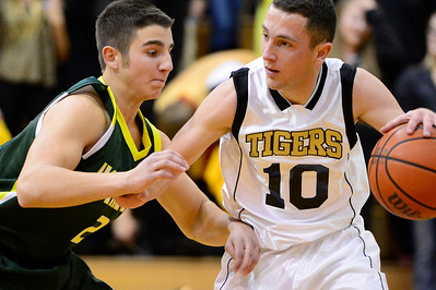 Tiger Blake Madone against Pueblo County. Jeff Shane/ Daily Record