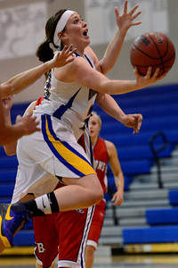 Husky Kenzie Gordon against Buena Vista. Jeff Shane/ Daily Record