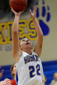 Husky Hayley Benker against Buena Vista. Jeff Shane/ Daily Record