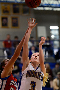 Husky Megan Droll against Buena Vista. Jeff Shane/ Daily Record