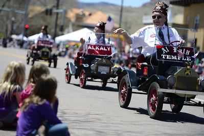 Al Kaly Shriners 2013 Blossom Parade. Jeff Shane/ Daily Record