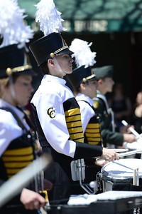 Cañon City High School Marching Band 2013 Blossom Parade. Jeff Shane/ Daily Record