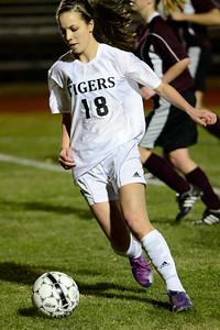 Tiger Kaylee Archuleta against Wasson. Jeff Shane/ Daily Record