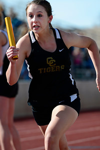 Tigers compete at the blossom track meet at Citizens' Stadium. Jeff Shane/ Daily Record