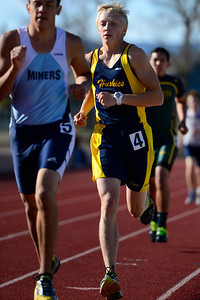 Florence trackster Caleb Cole competes Friday at the blossom track meet at Citizens' Stadium. Jeff Shane/ Daily Record