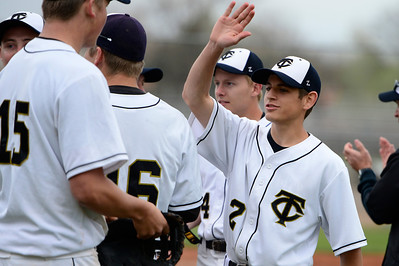 Tigers  against Pueblo County Monday at Justin Field. Jeff Shane/ Daily Record