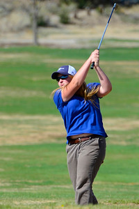 Florence golfer Jessie Patch competes during the Tiger Invitational Monday at the Shadow Hills Golf Course. Jeff Shane/ Daily Record