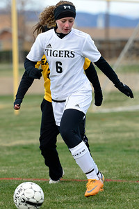 Tigers Nacole Miller against Pueblo East at Citizens' Stadium. Jeff Shane/ Daily Record