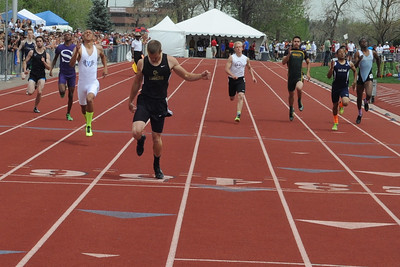Not even close. Zac McCoy dominated the 400-meter race on Saturday at the Class 4A state track and field meet at Jeffco Stadium in Lakewood. Brandon Hopper/Daily Record