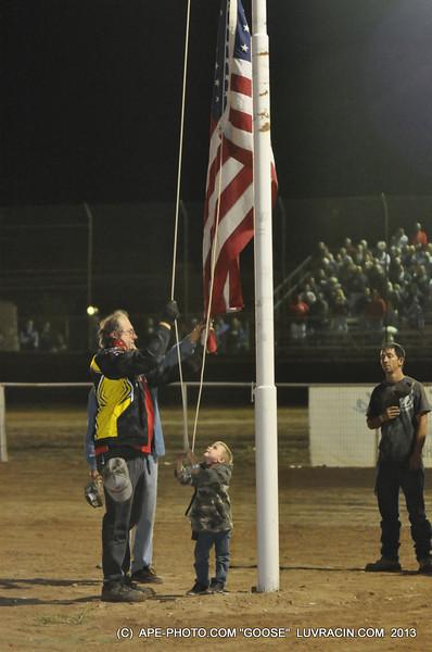 RAISING THE U S FLAG