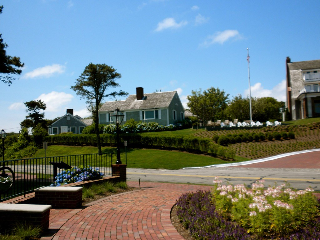 Grounds around the Chatham Bars Inn Hotel
