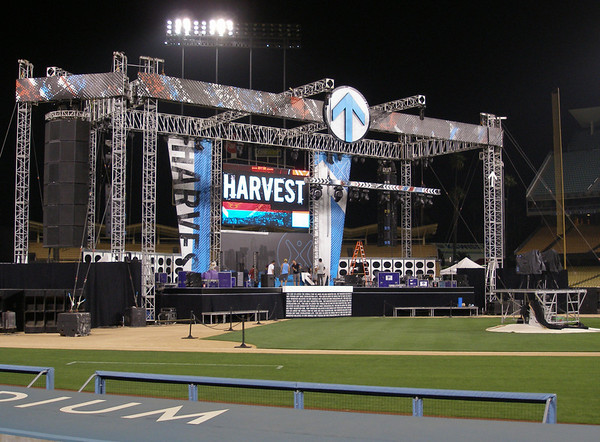 Harvest Crusade @ Dodgers Stadium 2011