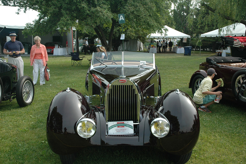 1937 Bugatti Type 57 Roadster