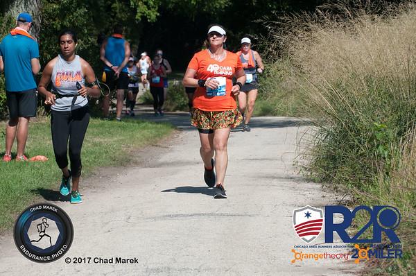 CARA Ready to Run 20 Miler - Finish Line - 9/16/2018