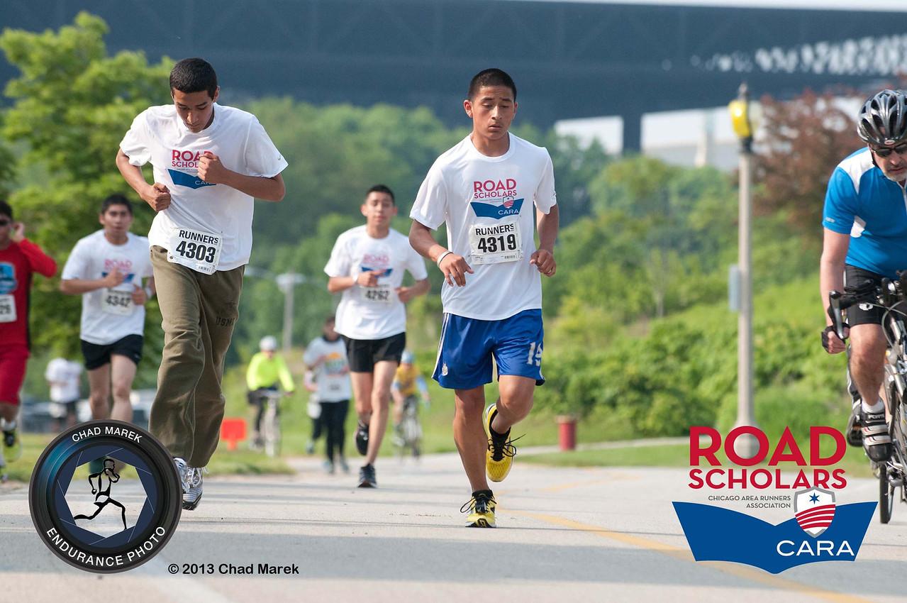 CARA Road Scholars - Run Home Chicago 5K Run
