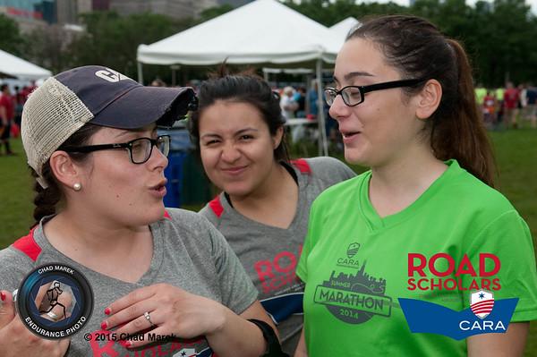 CARA Road Scholars at Gibbons 5K - 6/18/15
