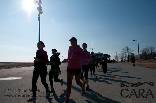 CARA Winter Half Marathon Training - 4/2/2011