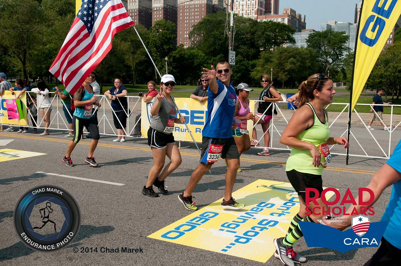 CARA Road Scholars - 2014 Rock n Roll Chicago Half Marathon