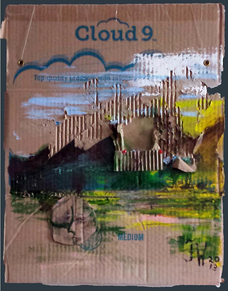 """cloud 9  23x17 5"""""""